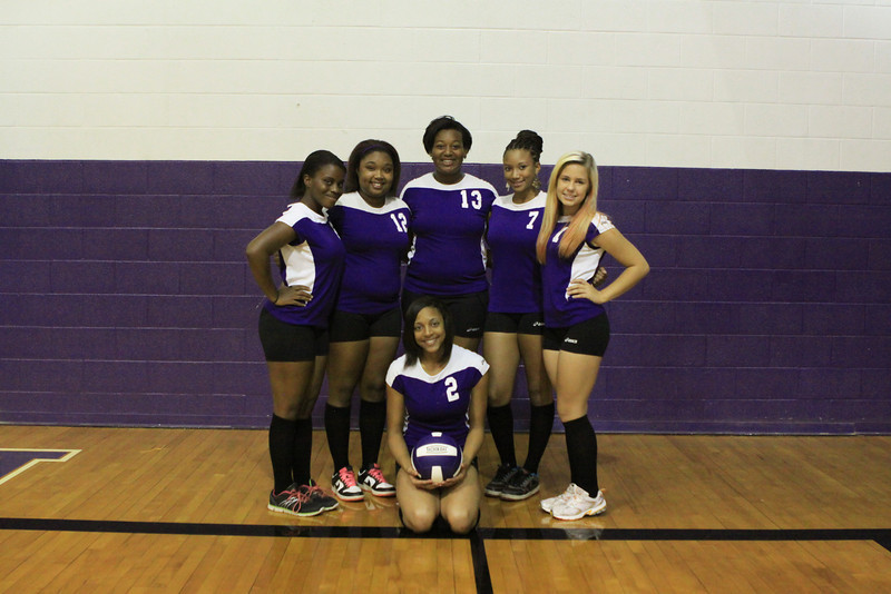 J.V. Volleyball Team