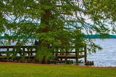 Blue Bank fishing pier