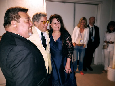 Teyah, Eric, and Tony Bennett