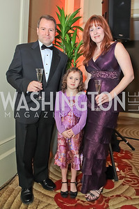 Andrew Eastman, Shannon Eastman, Rose-Ellen Eastman. The 2011 Joan Hisaoka Gala. Mandarin Oriental. October 22, 2011. Photo by Alfredo Flores