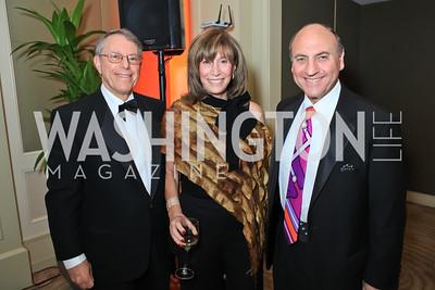 Steven Epstein, Deborah Epstein, Ron Shapiro. The 2011 Joan Hisaoka Gala. Mandarin Oriental. October 22, 2011. Photo by Alfredo Flores