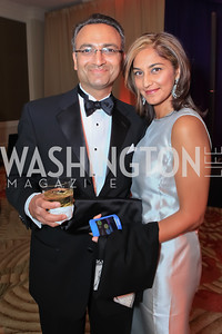 Farzad Najam, Sariah Najam. The 2011 Joan Hisaoka Gala. Mandarin Oriental. October 22, 2011. Photo by Alfredo Flores