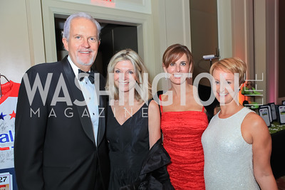 Jack Davies, Kay Kendall, Michelle Freeman, Kristin Nikitine. The 2011 Joan Hisaoka Gala. Mandarin Oriental. October 22, 2011. Photo by Alfredo Flores