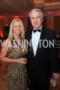Kelly Lovallo, Jeff Lovallo. The 2011 Joan Hisaoka Gala. Mandarin Oriental. October 22, 2011. Photo by Alfredo Flores