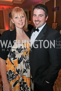 Kathryn Nelson-Indre, Matthew Indre. The 2011 Joan Hisaoka Gala. Mandarin Oriental. October 22, 2011. Photo by Alfredo Flores