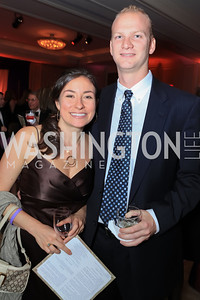 Alaina Sadick, John Goss. The 2011 Joan Hisaoka Gala. Mandarin Oriental. October 22, 2011. Photo by Alfredo Flores