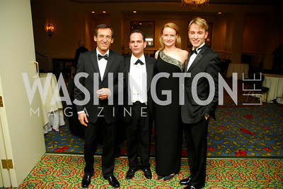 Marc Strauss,Richard Marks,Sarah Yoemans,Robert Williams,January 14,2011,Russian New Year's Eve Ball.Kyle Sampeton