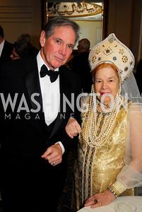 Miles Benson,Princess Selene Obolensky.January 14,2001,Russian New Year's Eve Ball,Kyle Samperton