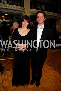 Tanya Trubetskoy,Gregory Trubetskoy.January 14,2011,Russian New Year's Eve Ball,Kyle Samperton