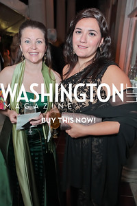 Dawn Schrepel, Elisa Catalano. The 43rd Annual Meridian Ball. Meridian International Center. October 14, 2011. Photo by Alfredo Flores