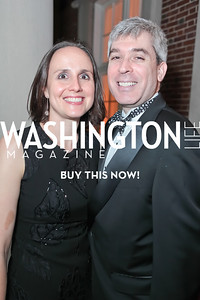 Erin Barnes, Randy Brater. The 43rd Annual Meridian Ball. Meridian International Center. October 14, 2011. Photo by Alfredo Flores