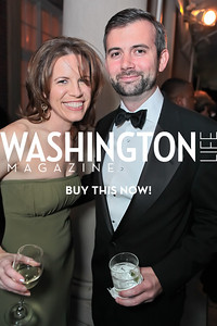 Amy Argetsinger, Neil Irwin. The 43rd Annual Meridian Ball. Meridian International Center. October 14, 2011. Photo by Alfredo Flores