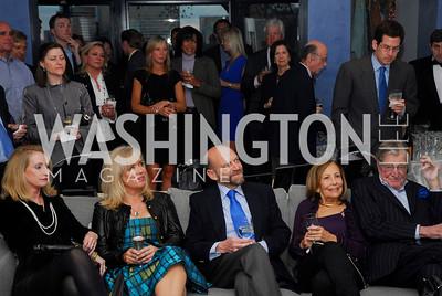 Rhona Wolfe Friedman, Laura Bode, Michael Klein, Susan Rappaport, Don Rappaport, Arc Reception, April 5, 2011, Kyle Samperton