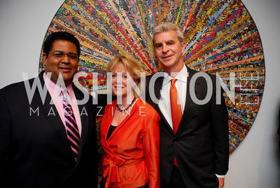 Edmund Fleet, Michelle Green, John Green, Arc Reception, April 5, 2011, Kyle Samperton