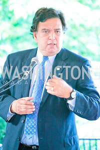 Gov. Bill Richardson. Photo by Alfredo Flores. The Center for Democracy in the Americas 5th Anniversary Celebration. The Stewart R. Mott House. June 20, 2011