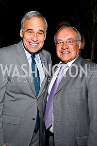 Rep. Charlie Gonzalez, Rep. Joe Baca. The Day of the Three Kings. Photo by Tony Powell. Cuba Libre. January 6, 2011