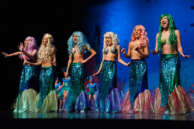 Broadway Musical Theater presents Disney's The Little Mermaid at Ransome Everglades Theater in Coconut Grove Dec. 15th, 2012. Photo by MagicalPhotos.com / Mitchell Zachs