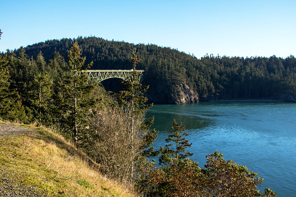 Deception Pass Bridge, Whidby Island.
