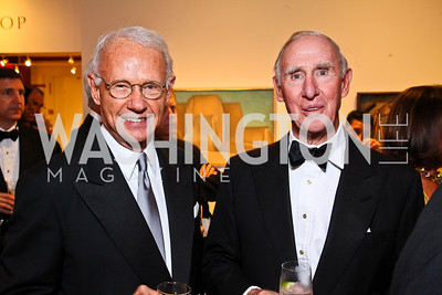 Roger Sant, John Macomber. Photo by Tony Powell. Phillips Collection Gala. May 13, 2011