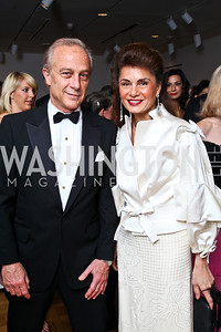 Maximo and Sedi Flugelman. Photo by Tony Powell. Phillips Collection Gala. May 13, 2011