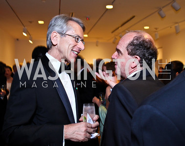 Italy Amb. Giulio Terzi di Sant'Agata, Renato Miracco. Photo by Tony Powell. Phillips Collection Gala. May 13, 2011