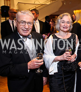 Alan and Irene Wurtzel. Photo by Tony Powell. Phillips Collection Gala. May 13, 2011