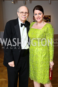 Sam Dawson, Rachel Pearson. Photo by Tony Powell. Phillips Collection Gala. May 13, 2011
