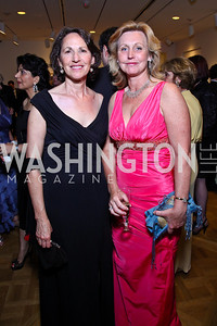 Sally Oren, Eva Hafstrom. Photo by Tony Powell. Phillips Collection Gala. May 13, 2011