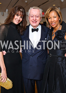 Lynly Boor, Tom Quinn, Linda Banton. Photo by Tony Powell. Phillips Collection Gala. May 13, 2011