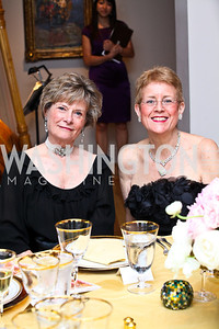 Molly Raiser, Nancy Zirkin. Photo by Tony Powell. Phillips Collection Gala. May 13, 2011