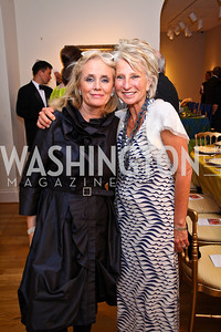 Debbie Dingell, Jane Harman. Photo by Tony Powell. Phillips Collection Gala. May 13, 2011