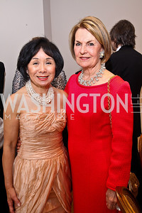 Rep. Doris Matsui, Vicki Sant. Photo by Tony Powell. Phillips Collection Gala. May 13, 2011