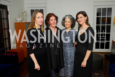 Nancy Goodman,Sarah Blake,Liza Gilbert,Claire Shipman,February 17,2011,The Postmistress Book Party,Kyle Samperton