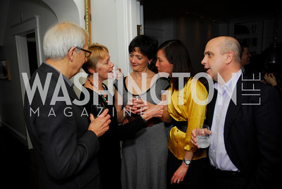 Peter Parshall,Linda Parshall,Martine Zampaglion,Danielle Siew,Joe Zampaglion,February 17,2011,The Postmistress Book Party,Kyle Samperton