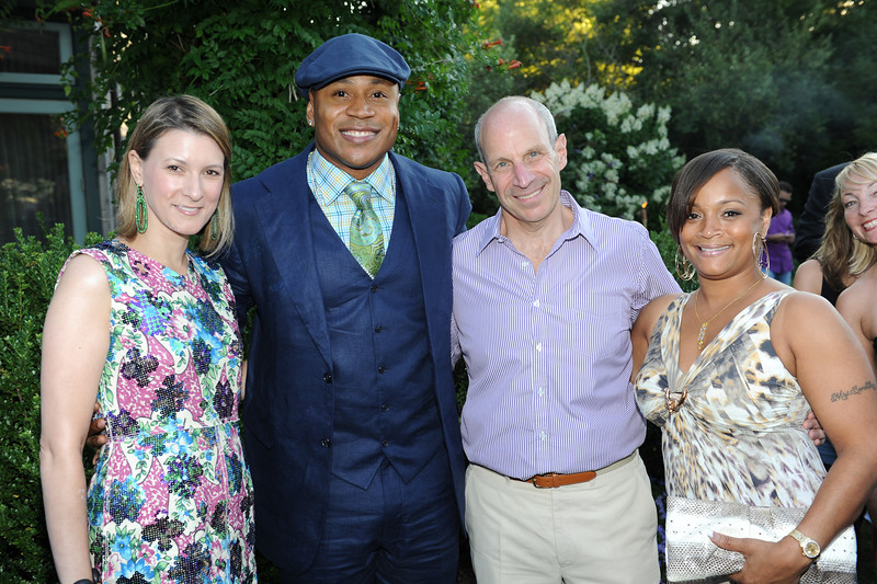 Sagaponack, NY - AUGUST 07:  LL Cool J Attends  The Red Hot Red Cross Cocktail Fundraiser, where Entertainer LL Cool J is the recipient of the American Red Cross Humanitarian  on August 7, 2010 in Sagaponack, New York. (Photo by Joseph Bellantoni/In House Image)
