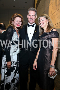 Gail Huff and Sen. Scott Brown, Abigail Blunt. Photo by Tony Powell. The Ronald Reagan Centennial Gala. Reagan Building. May 24, 2011