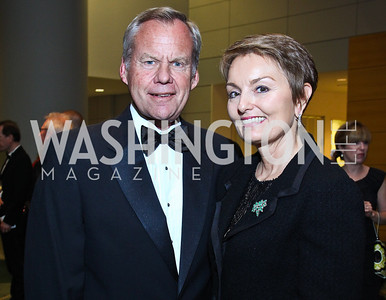 John and Antonia Gore. Photo by Tony Powell. The Ronald Reagan Centennial Gala. Reagan Building. May 24, 2011
