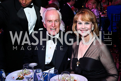 Lloyd and Ann Hand. Photo by Tony Powell. The Ronald Reagan Centennial Gala. Reagan Building. May 24, 2011