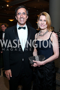 Josh Rales, Susan Weissman. Photo by Tony Powell. The Ronald Reagan Centennial Gala. Reagan Building. May 24, 2011