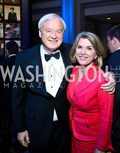 Chris and Kathleen Matthews. Photo by Tony Powell. The Ronald Reagan Centennial Gala. Reagan Building. May 24, 2011