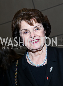 Sen. Dianne Feinstein. Photo by Tony Powell. The Ronald Reagan Centennial Gala. Reagan Building. May 24, 2011