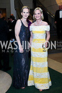 Molly and Erin Walsh. Photo by Tony Powell. The Ronald Reagan Centennial Gala. Reagan Building. May 24, 2011