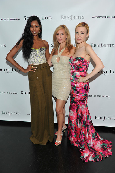 WATERMILL, NY - MAY 28: Jessica White, Sonja Morgan and Devorah Rose attends the social life magazine May 20111 cover launch party at The Social Life Estate on May 28, 2011 in Watermill, New York.(Photo by Joseph Bellantoni/In House Image)