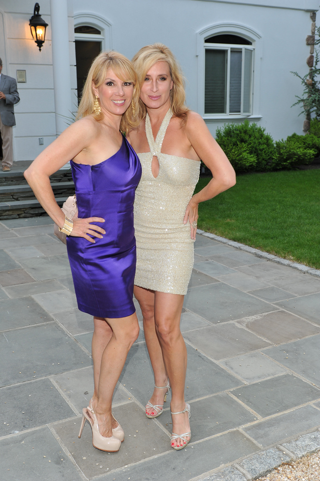 WATERMILL, NY - MAY 28: Ramona Singer and Sonja Morgan attends the social life magazine May 20111 cover launch party at The Social Life Estate on May 28, 2011 in Watermill, New York.(Photo by Joseph Bellantoni/In House Image)