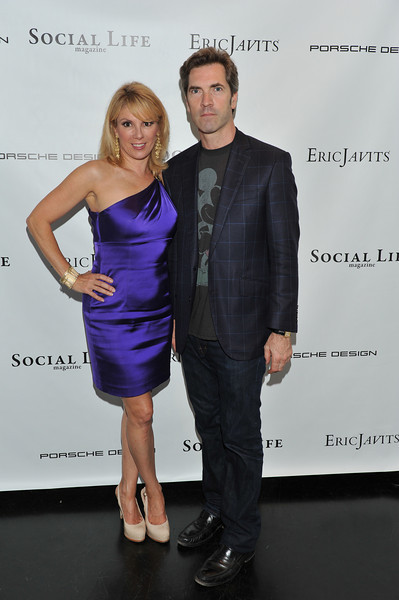 WATERMILL, NY - MAY 28: Ramona Singer and Justin Mitchell attends the social life magazine May 20111 cover launch party at The Social Life Estate on May 28, 2011 in Watermill, New York.(Photo by Joseph Bellantoni/In House Image)