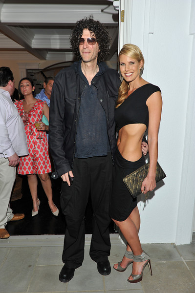 WATERMILL, NY - MAY 28:  Howard Stern and wife Beth Stern attends the social life magazine May 20111 cover launch party at The Social Life Estate on May 28, 2011 in Watermill, New York.(Photo by Joseph Bellantoni/In House Image)