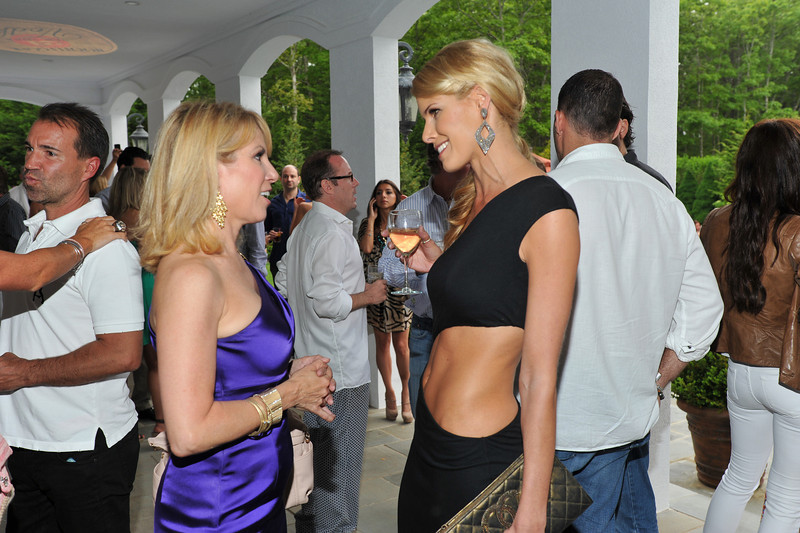WATERMILL, NY - MAY 28: Ramona Singer and Beth Stern attends the social life magazine May 20111 cover launch party at The Social Life Estate on May 28, 2011 in Watermill, New York.(Photo by Joseph Bellantoni/In House Image)