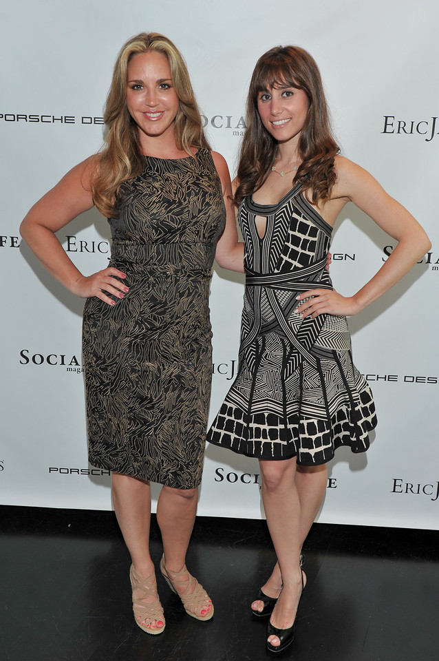 WATERMILL, NY - MAY 28: Andrea Correale and Rachel Heller attends the social life magazine May 20111 cover launch party at The Social Life Estate on May 28, 2011 in Watermill, New York.(Photo by Joseph Bellantoni/In House Image)
