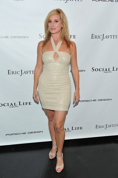 WATERMILL, NY - MAY 28:  Sonja Morgan attends the social life magazine May 20111 cover launch party at The Social Life Estate on May 28, 2011 in Watermill, New York.(Photo by Joseph Bellantoni/In House Image)