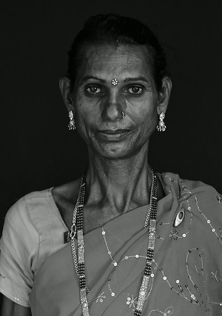 Third Genders in Nepal (Black and White)